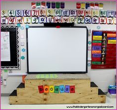 Build a stage for your classroom!  Endless possibilities!
