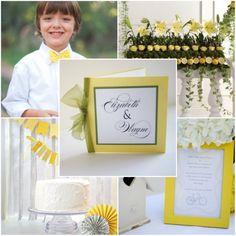 gelb und weiss Hochzeit 2014 Hochzeitseinladungskarten mit Schleife Hochzeit Blumen Dekoration Gelb, Blau und Lila Hochzeit Ideen – 2014 Hochzeitsfarben Trend