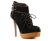 Two Lips Raven Bootie...I love the syle of these shoes