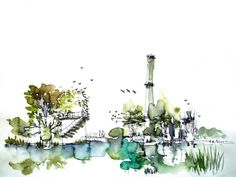 Winners of the regional Holcim Awards 2014 for Europe | Holcim Awards for Europe - Gold: Anthropic Park Freshwater ecological reserve and remediation, Saline Joniche, Italy. (Copyright: Grupo aranea) | Bustler