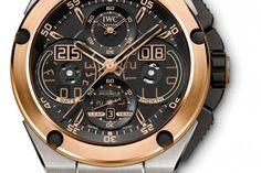 10 montres & un coussin - IWC Schaffhausen Ingénieur Calendrier Perpétuel - lesoir.be