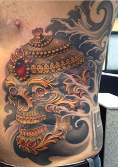 tibetan skull tattoo - Google Search
