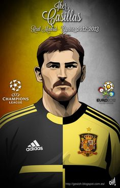 Íker Casillas, Real Madrid - Spain