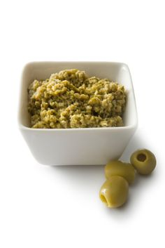 """Jennifer Cornbleet ~ Olive Tapenade. This topping is easy to make, yet has a complex, """"gourmet"""" flavor. Use Olive Tapenade as a spread on any sandwich, a salad dressing, or a dip with Crudités."""