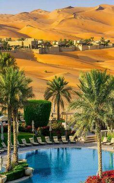 Qasr Al Sarab Desert Resort - Abu Dabhi, U.A.E