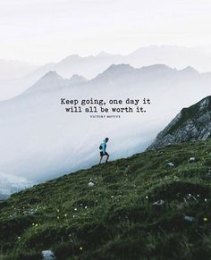 Positive Quotes :    QUOTATION – Image :    Quotes Of the day  – Description  Keep going one day it will be worth it..  Sharing is Power  – Don't forget to share this quote !    https://hallofquotes.com/2018/04/14/positive-quotes-keep-going-one-day-it-will-be-worth-it/