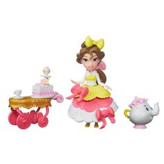 Disney Princess Little Kingdom Belle's Teacart Treats