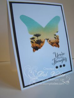 thinlits card dies | Stamps: Best of Flowers, Best of Greetings