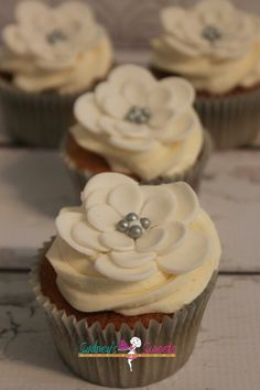 Flower Pedal Custom Cupcakes