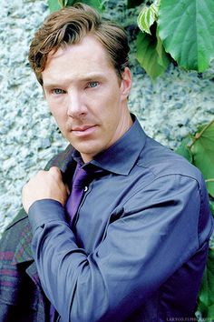 Benedict Cumberbatch | photo by Samuel Bradley for Out Magazine (Oct 2014)