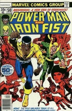 Power Man and Iron Fist #50, buddy teams, 1970s, Marvel Comics, Daughters of the Dragon, Chris Claremont, Sons of the Dragon, John Byrne