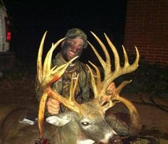 Monster Ohio buck one of my viral post from Frenzy Outdoors in the past couple…