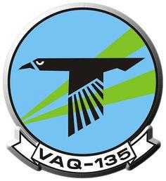 VAQ-135 (Logo) - Northrop Grumman EA-6B Prowler