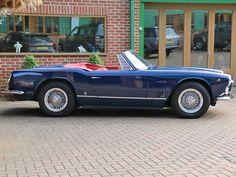 Maserati 3500 GTI Vignale Spyder - JD Classics Maserati Quattroporte Gts, Cabriolet, Aston Martin, Jaguar, Convertible, Ferrari, Porsche, Classic Cars, Racing