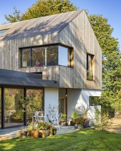 Home Roof Design, Clad Home, House Cladding, House Extension Design, Roof Architecture, House Roof, Cool House Designs, Building A House, House Ideas