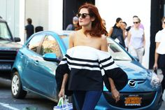 Off-Shoulder #StreetStyle http://www.videdressing.us/selection-women-style-team-love/sel-s1503.html