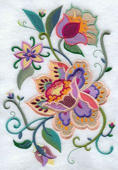 Embroidery Jacobean style