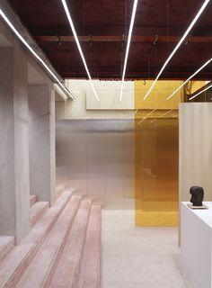 Loja Acne, Borzath Fornell Architects. Paris.