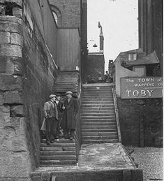 Town of Ramsgate, Wapping Old Stairs - a rear view