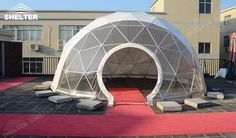 SHELTER Geodesic Domes - Dome Tent - Hemisphere Tents - Event Geodome for Sale - Wedding Marquee - Party Marquees Marquee For Sale, A Frame Tent, Roof Shapes, Shelter Tent, Tent Sale, Dome Tent, Before Wedding, Geodesic Dome, Marquee Wedding