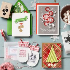 Holiday Card Making Crafter's Night Out