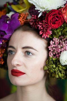 flowers, headpiece, fashion