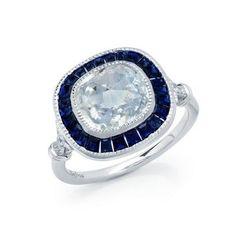 Lafonn's signature Lassaire simulated diamond Platinum Plated Ring R0237CSP05