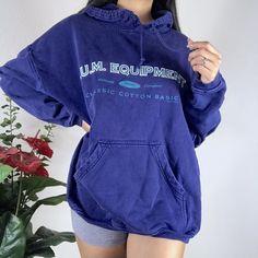 ae6c64dbec Vintage 90 s bum equipment long sleeve pullover hoodie Has a - Depop Hoodie  Jacket