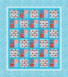 Squared Up Free Pattern: Robert Kaufman Fabric Company