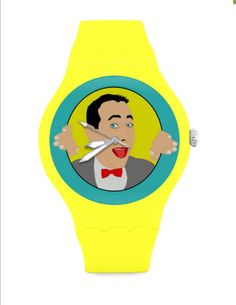 PEE WEE HERMAN unisex watch wrist watch... by kayciwheatley
