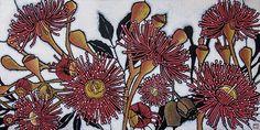 Eucalypt - botanicals by Julie Hickson Australian Wildflowers, Australian Flowers, Floral Drawing, Floral Watercolor, Watercolour, Plant Illustration, Botanical Illustration, Botanical Drawings, Botanical Prints