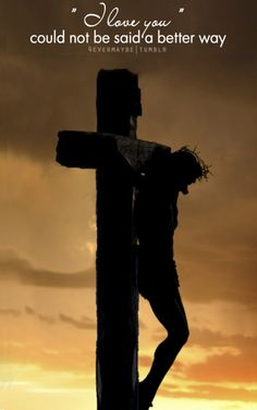 Jesus on the Cross-- BUT NO MORE, HE IS RISEN ---  Thank You JESUS!!!!
