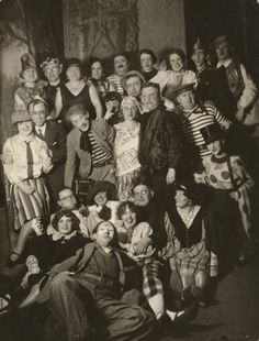Germany.  Artists' Carnival in Cologne, 1931 // August Sander