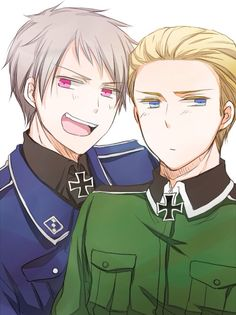 Prussia and Germany (Hetalia)