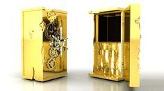 Boca do Lobo | Millionaire | Golden Safe Box Luxury - via http://bit.ly/epinner
