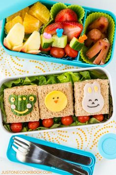 How To Make Cute Bento | Easy Japanese Recipes at JustOneCookbook.com