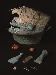 The bronze urn from Lusehøj. (National Museum of Denmark)