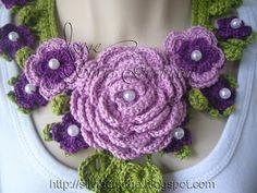 Crochet...Gotta Love It! Blog: Afrodite Colar (Aphrodite Collar) My New Project Before Christmas 2011