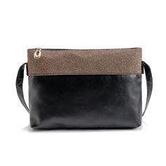 23d76bc5ce Women Handbag Patchwork Color Leather Zippper Shoulder Bag Fashion Design  Hobo Messenger Bags Sacos De Mulheres Mensageiro  7116