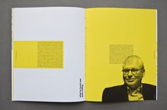 The Tipping Point: Annual Report by Nick D'Amico, via Behance