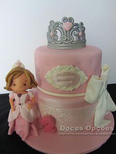 Doces Opções: Bolo do 2º aniversário da princesa Leonor