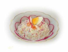 Lachs-Aufstrich mit Radieschen - Rezept - ichkoche.at Mashed Potatoes, Eggs, Pudding, Breakfast, Ethnic Recipes, Desserts, Food, Wheat Berry Recipes, Spreads