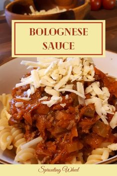 My family's absolute favourite pasta dish, this Bolognese sauce is easy to make in bulk. I love dishes that are easy to make in bulk because then you don't have to cook the next day. It is quick to warm up while you're cooking some pasta to go with it. Whether you serve it with spaghetti, tagliatelle, penne, or fusilli pasta, this Bolognese sauce will be a treat. Bolognese Sauce, Fusilli, Grated Cheese, Penne, How To Cook Pasta, Pasta Dishes, Spaghetti, Paleo, Beef