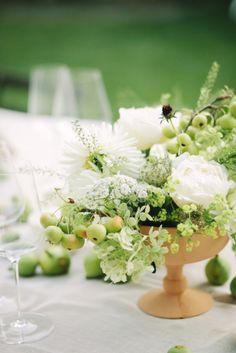 Studio A+Q - Un mariage champetre chic en vert et blanc a Rome - La mariee aux pieds nus