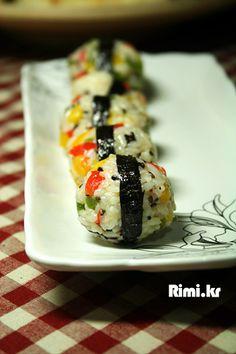 맛있는 요리 레시피 - 리미의 레시피 ::Rimi.kr:: - 볶음주먹밥