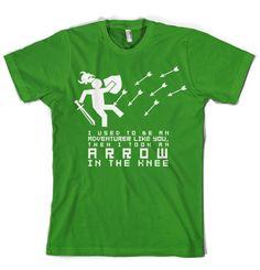 Skyrim t-shirt.
