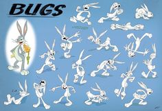 """spcrash: """"Model sheets of Bugs Bunny and Elmer Fudd from Looney Tunes Cartoons released by Jim Soper, the character designer for the show. Character Design Disney, Drawing Cartoon Faces, Elmer Fudd, Merrie Melodies, Looney Tunes Cartoons, Favorite Cartoon Character, Title Card, Bugs Bunny, Drawing Reference"""