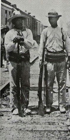 Yaqui soldiers with Alvarado Abregon army circa 1911.......