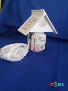 Veioza Home - model mini lampa - HandMadeZone - Vinde si cumpara creatii handmade Container, Lighting, Mini, Handmade, Home, Hand Made, Ad Home, Craft, Homes