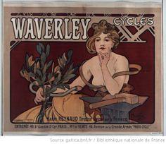 Waverley cycles... : [affiche] / Mucha - 1898